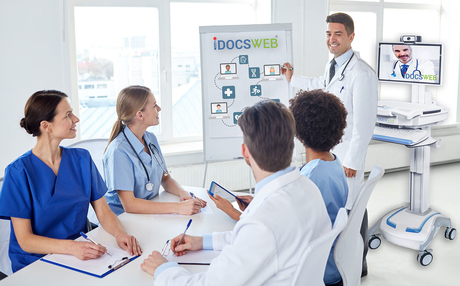 iDocsWeb Telemedicine Education